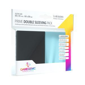 gamegenic double sleeving pack 80