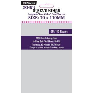 Fundas de Cartas: Sleeve Kings - Magnum 70 x 110 (110)