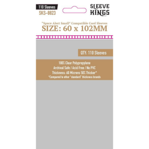 Fundas de Cartas: Sleeve Kings - 60 x 102 (110)