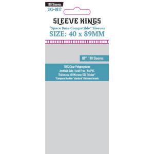 Fundas de Cartas: Sleeve Kings - 40 x 89 (110)