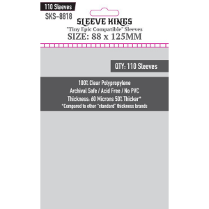 Fundas de Cartas: Sleeve Kings - 88 x 125 (110)