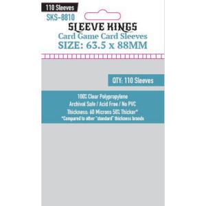 Fundas de Cartas: Sleeve Kings - Inner Standard 63,5 x 88 (110)