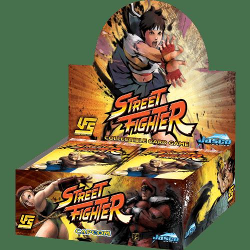 UFS: Street Fighter - Booster Display