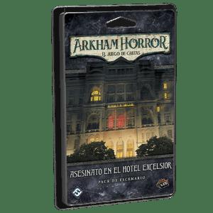 Asesinato en Hotel Excelsior Arkham horror LCG