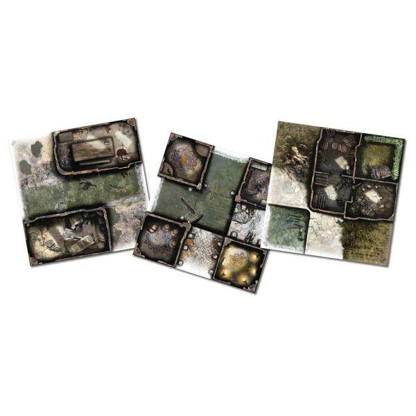 Zombicide Green Horde: Tile Set