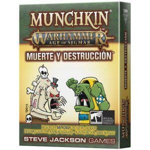 Munchkin: Warhammer Age of Sigmar - Muerte y Destrucción