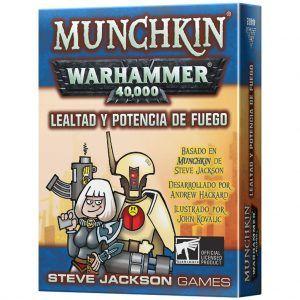 Munchkin: Warhammer 40,000 - Lealtad y Potencia de Fuego