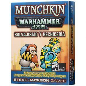 Munchkin: Warhammer 40,000 - Salvajismo y Hechicería