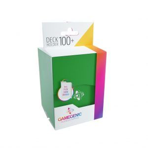 Deck-Box: Gamegenic Deck Holder 100+ Verde
