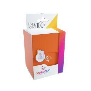 Deck-Box: Gamegenic Deck Holder 100+ Naranja