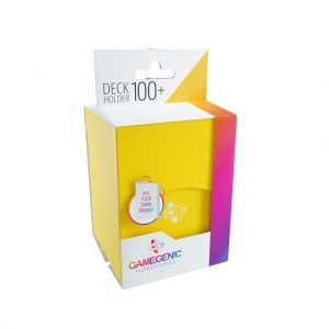 Deck-Box: Gamegenic Deck Holder 100+ Amarillo
