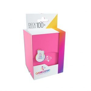 Deck-Box: Gamegenic Deck Holder 100+ Rosa