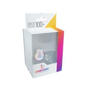 Deck-Box: Gamegenic Deck Holder 100+ Transparente