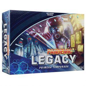 Pandemic Legacy Temporada 1 Caja Azul