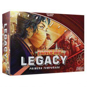 Pandemic Legacy Temporada 1 Caja Roja